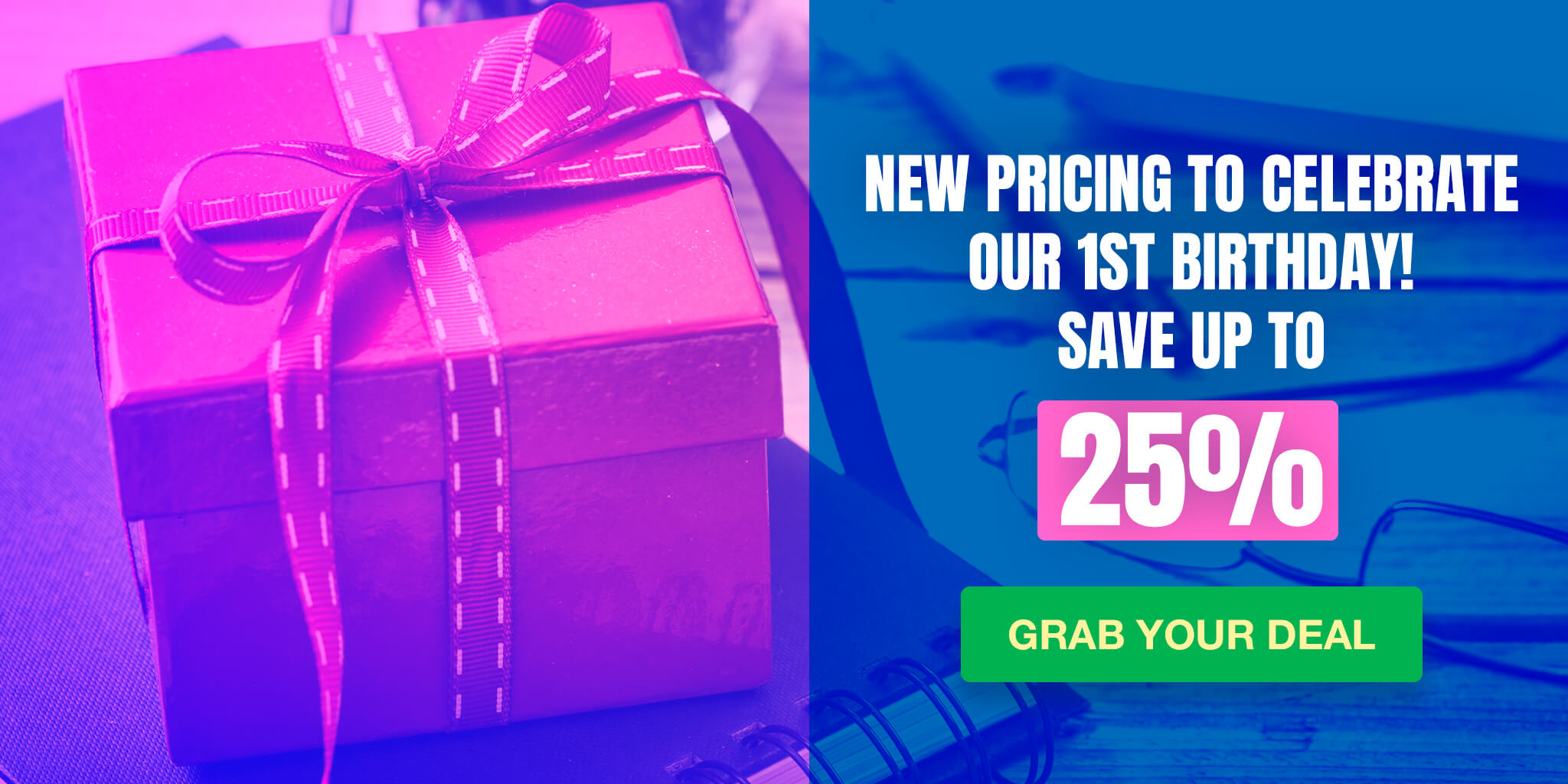 Save up to 25% with new pricing for business solution by KeepSolid to celebrate our 1st birthday